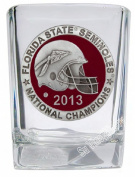 2013 BCS National Champions Florida State Seminoles Square Shot Glass - Enamelled