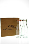 Weck 766 Juice Jar, 1060ml - Set of 3