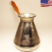 "Turkish Greek Coffee Pot ""Egypt"" Volume 23.7 Oz - 700 ML"