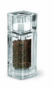 Cole and Mason Precision Cube Combi Acrylic Pepper Mill with Salt Shaker on Top