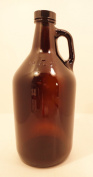 1.9l Amber Growler With 38 mm Polyseal Lid