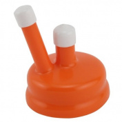 Carboy Cap, Plastic, 2 Spouts