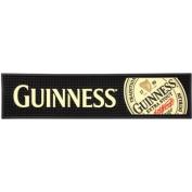 Guinness Rubber Bar Top Mat - Extra Stout Label 50cm X 13cm