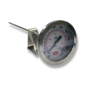 Cooper-Atkins 2238-14-3 Stainless Steel Bi-Metal Stem Test Thermometer with Clip Glass Lens, NSF, 50 to 550 degrees F Temperature Range