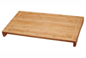 Bamboo Large Over The Sink / Stove Cutting Board