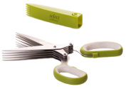 Select Culinary™ 5-Blade Herb Scissors - Top Quality Stainless Steel Multi Blade Shears, Herb Cutter to Chop, Snip, Cut, Shear, Shred, Mince Herbs & Vegetables