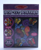 Melissa & Doug Pop-Up Posters-Butterflies and Flowers