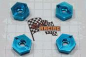 Redcat Racing 02134B 12mm Aluminium Wheel Hex - Blue - For All Redcat Racing Vehicles