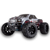 Redcat Racing Volcano EPX PRO Brushless Electric Truck (1/10 Scale), Black/Silver