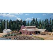 Walthers Cornerstone Series & #174 N Scale Mountain Lumber Co. Sawmill - Kit