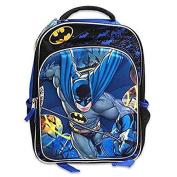 Batman 3D Graphic Backpack Fun DC Bookbag 39cm