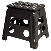 Home-it Folding Childeren Step Stool 33cm . Black