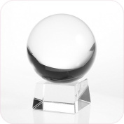Amlong Crystal® Clear Crystal Ball 110mm (4.2 in.) Including Crystal Stand and Gift Package