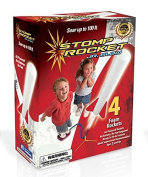 Stomp Rocket Jr. Glow Kit Exclusive Colour Red