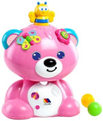 Molto - Teddy bear, game activities, pink