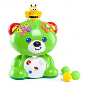 Molto - Teddy bear, game activities, green