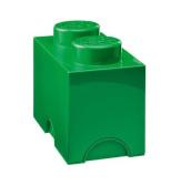 Lego Storage Brick 2 Medium Dark Green