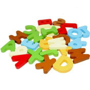 Atdoshop(TM) 26PCS A-Z Letters Alphabet Figure Children's Educational Wooden Toys