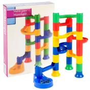 Kids Marble Run Race Construction Kit 24pcs Fun Game Set