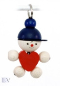 Hess Wooden Joe with Hart Key Chain
