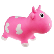 Skibz Kidzzfarm Bella Cow - Pink & White Hopper - NEW!
