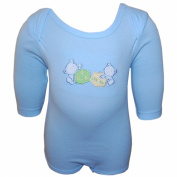 F.S.Confeccoes,Lda-Portugal - baby romper, long- sleeved, blue