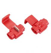 Absolute USA SPL2218R 22/18 Gauge Scotchlock Quick Splide Auto-TAP Connectors