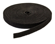 NavePoint 1.3cm Inch Roll Hook & Loop hook and loop Reusable Cable Ties Wraps Straps - 10M 33ft