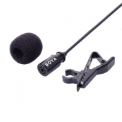 BOYA BY-LM20 Professional Mini USB External Microphone Clip for GoPro Hero 3 3+ Camera LF492