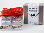 Sony MC60 Microcassette Tapes 30 Pack