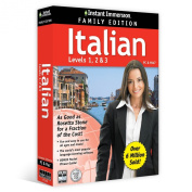 Instant Immersion Italian Family Edition Levels 1,2,3