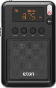Eton NGWMINIB Mini Compact Compact AM/FM and Shortwave Radio, Black