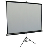 New 250cm Portable Projector Screen 4:3 Projection Pull Up Foldable Stand Tripod