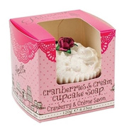 Rose And Co Cranberries & Cream Cupcake Soap 120g
