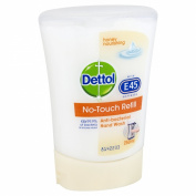 Dettol No-Touch Refill Anti-Bacterial Hand Wash, Honey Nourishing 250 ml - Pack of 5
