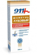 911 Onion Shampoo - Stops Hair Loss & Encourages Regrowing Bald Patches