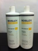 Bosley Defence Nourishing Shampoo & Volumizing Conditioner 1000ml Duo Set for Colour Treated Hair by Bosley [Beauty]