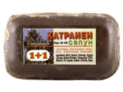 Milva Pine Tar Soap Enriched with Nettle and Juniper Extracts - Anti-dandruff Antibacterial & Anti-acne Effect X 2 Bars