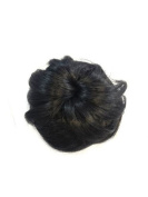 Loose Fake Hair Bun. Has 2 Mini Wire Combs and a Drawstring adjuster.