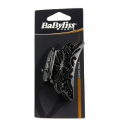 Babyliss Black Hair Claw Clip with Ornate Design