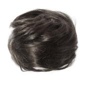 American Dream Petite Size Human Hair Bun, Natural Black Number 1B