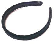 Allsorts® Thin Black Velvet Aliceband Headband Hair Band