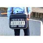 Urban Junk 'Explicit Content' Retro Funky Shoulder Bag