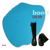 booti boot shaper colour - blue for 4 pairs of boots