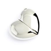 2GB Silver Heart Novelty USB Flash Drive/Memory Stick/Pen/Gift/Present/Stocking