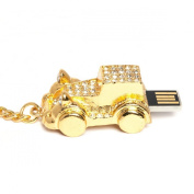 2GB Sparkly Car Novelty USB Flash Drive/Memory Stick/Pen/Gift/Present/Stocking