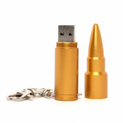 Gold Bullet USB Memory Stick 2GB - Flash Drive/School/Novelty/Gift
