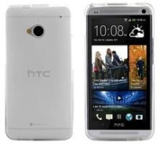 Cutting-Edge TECKNET - MT259CLR - CASE, HTC ONE, TPU SHELL, CLEAR - Min 3yr ClevaUK Warranty
