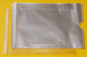 """Pack of 500 - Calendar Display Cellophane Bags Self Seal - A4 - 9"""" x 13"""" - Cello Size 218mm x 302mm - 40 Micron"""