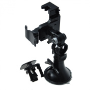 massG® Universal Car Phone Holder Cradle With Window Suction Mount For Mobile Devices